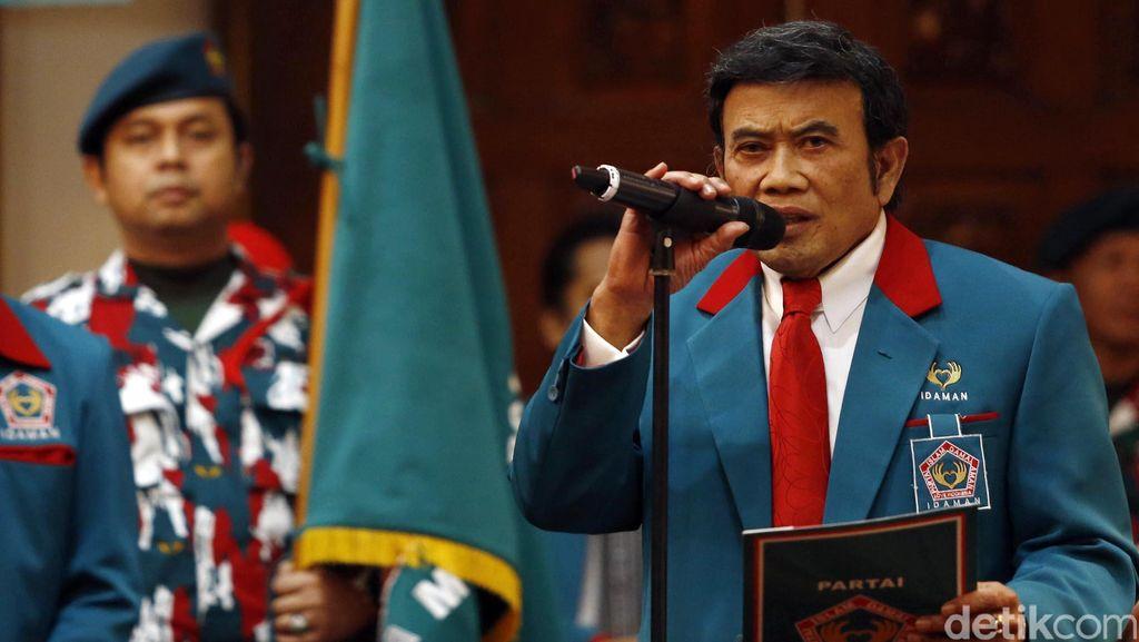 Rhoma Irama Lantik Pengurus DPW Partai Idaman