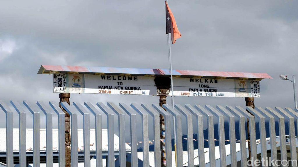 Menengok Perbatasan RI dan PNG di Jayapura