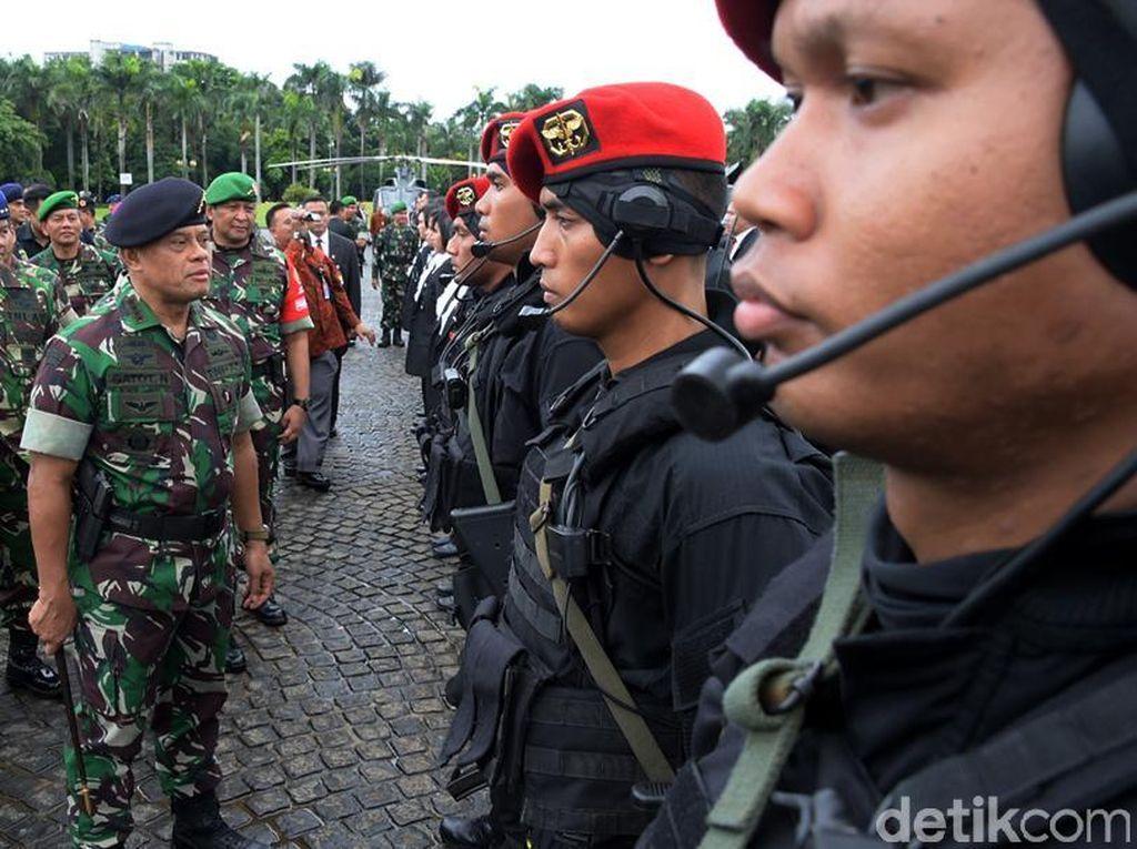 TNI-Polri Jaga Ketat Pembukaan KTT OKI