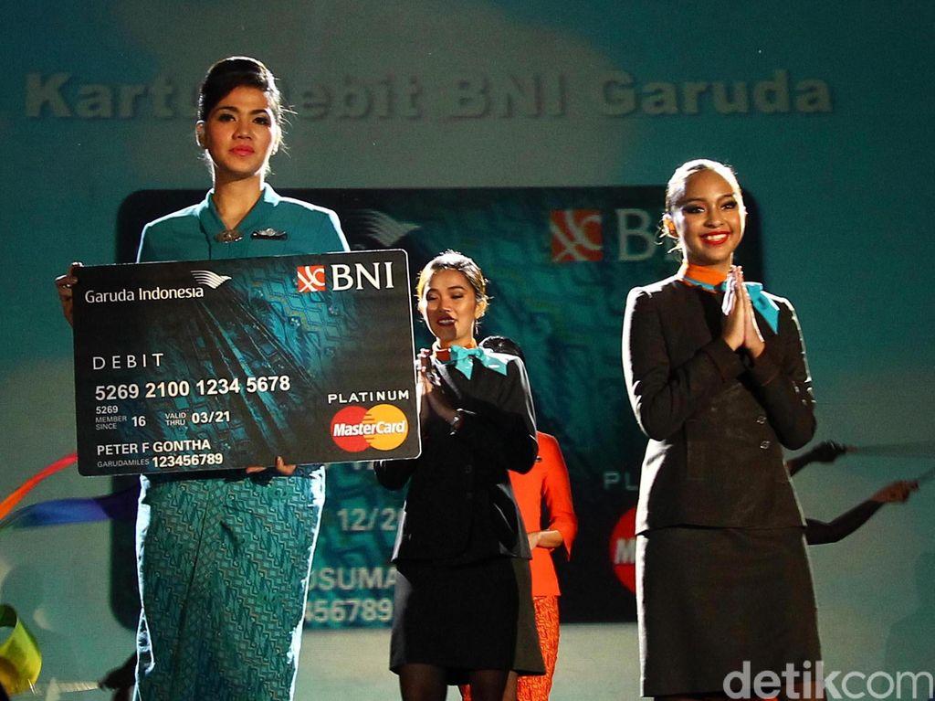 BNI-Garuda Luncurkan Kartu ATM Khusus