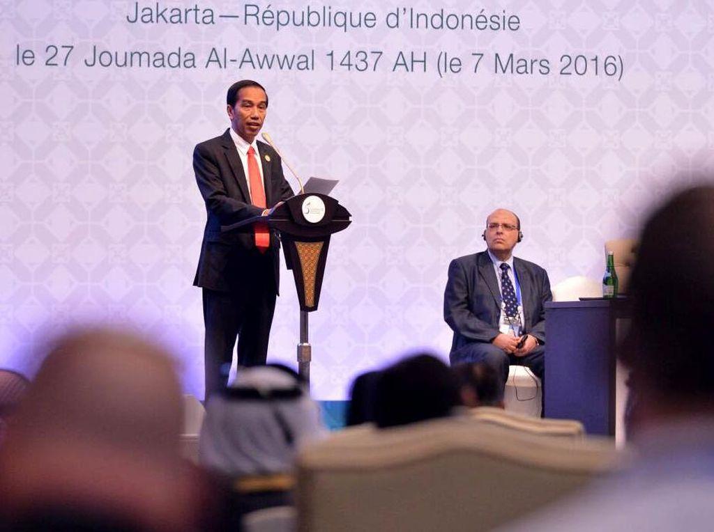Jokowi Buka Konferensi Tingkat Tinggi (KTT) OKI