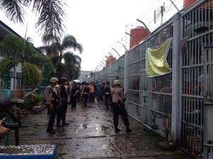 Ingin Periksa Napi Pengendali Narkoba, Tim Polda Riau Ditolak Lapas