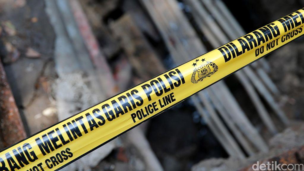 Gorong-gorong Merdeka Selatan Digaris Polisi