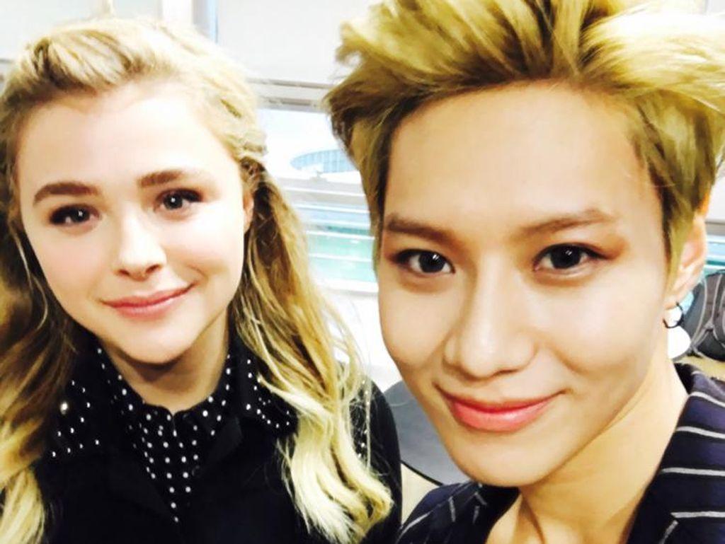 Its Fangirling Time! Chloe Moretz Senang-senang di Korea
