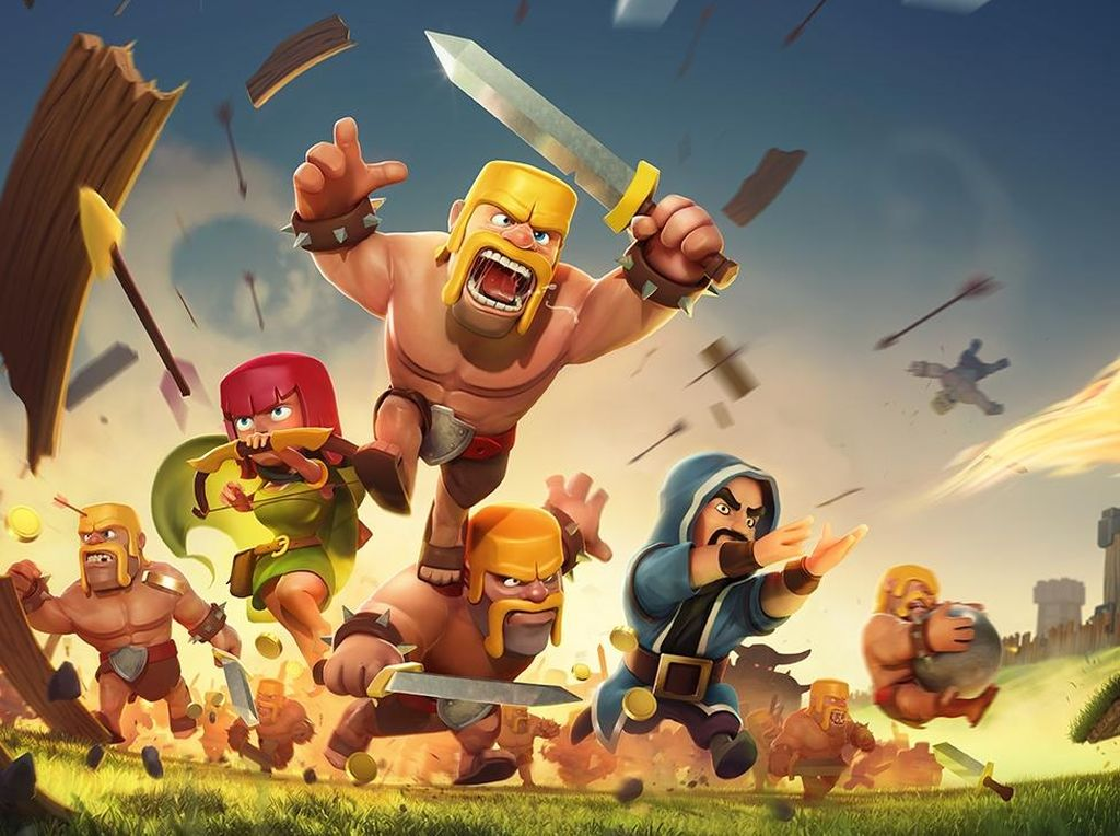 100 Juta Gamer Perang di Clash of Clans Tiap Hari