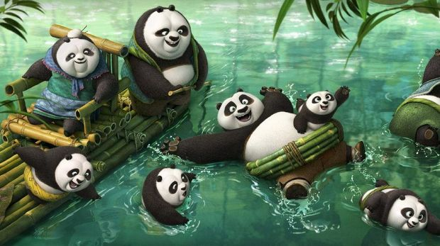 Cuplikan Film Kung Fu Panda 3 (2016)