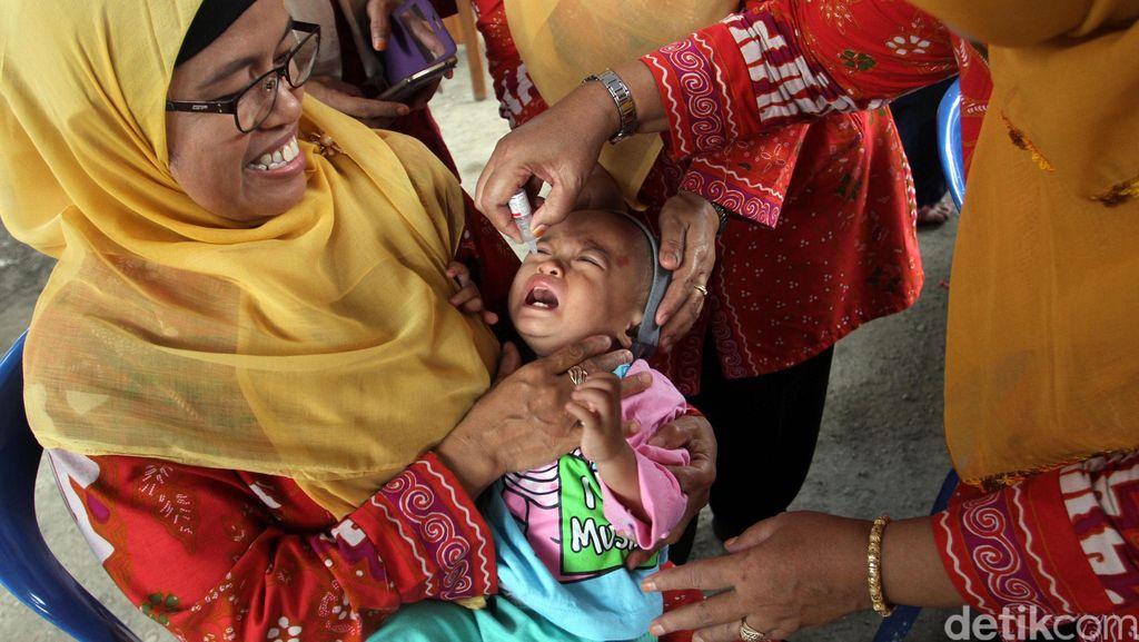 Pekan Imunisasi Nasional di Bekasi