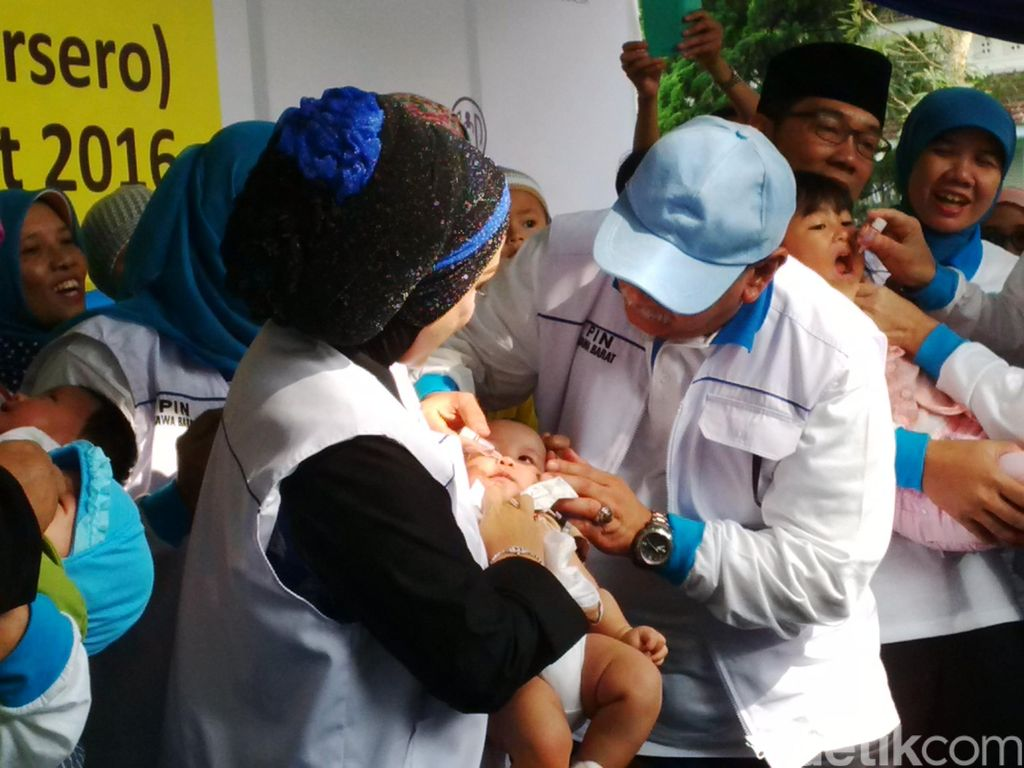 Seiring Dunia Bebas Polio pada 2020, Bio Farma Lanjut Produksi Vaksin Lain