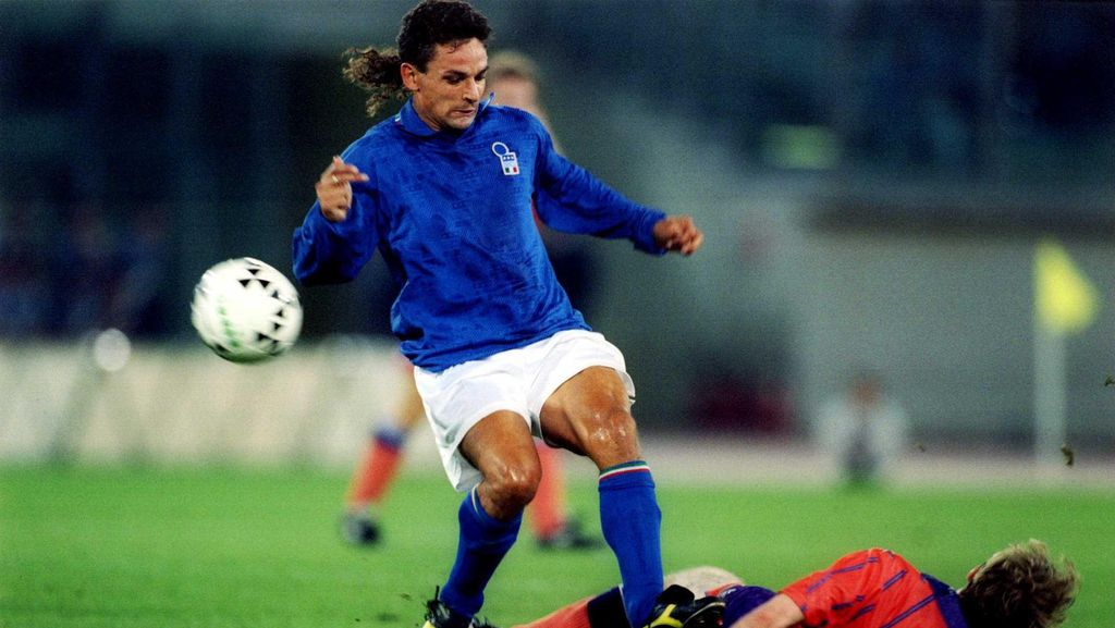 Bintang Sepakbola 1990-an: Kuncir Kuda Baggio, Lincahnya Michael Owen