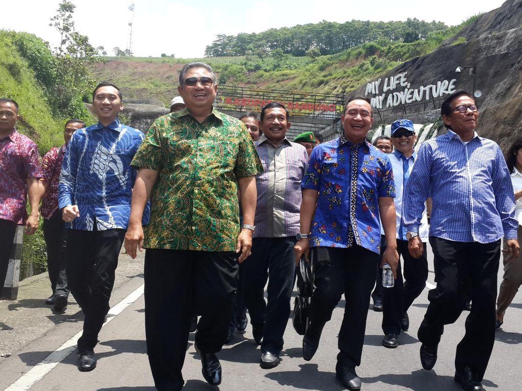Dukungan Kader Demokrat untuk JK-AHY Menguat, SBY Tersenyum