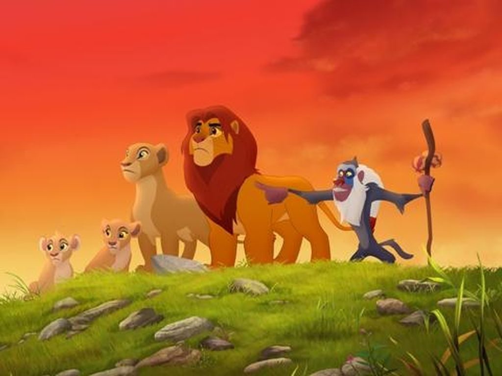 Kontroversi The Lion King Disebut Tiru Animasi Kimba, The White Lion