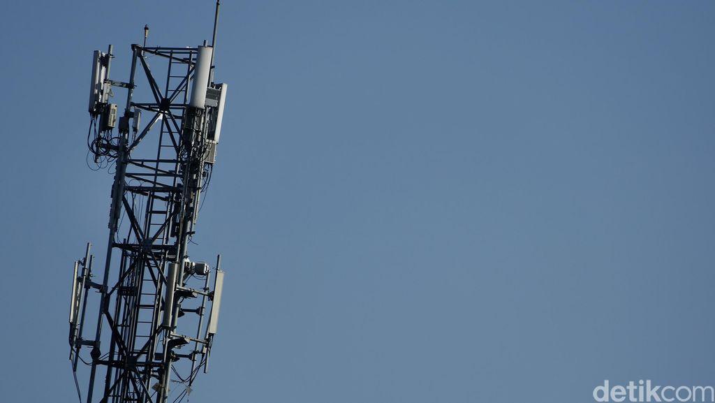 Baterai Tower Telkomsel di Denpasar Dicuri Maling