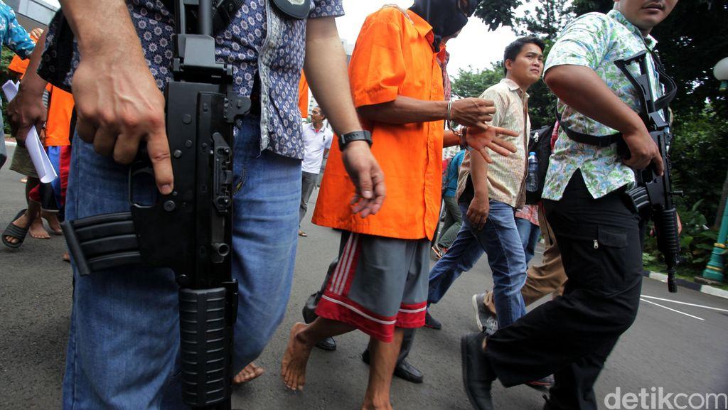 Pelaku Pencurian Kabel di Gorong-gorong Ditangkap