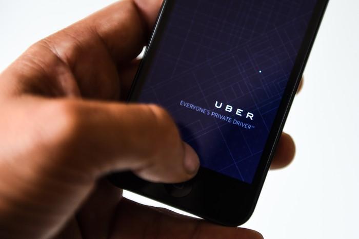 Aplikasi Uber (Foto: GettyImages)