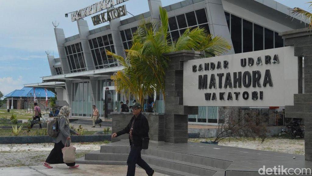 Rp 80 M Digelontorkan Untuk Percantik Bandara Matahora di Wakatobi