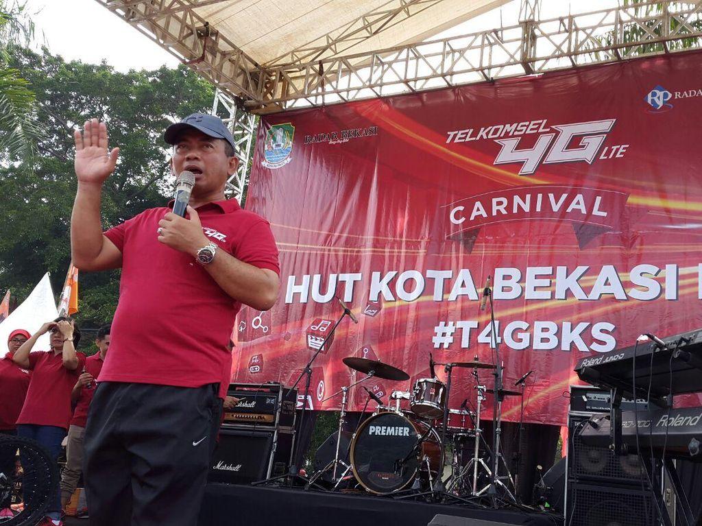 Kado Telkomsel untuk HUT Bekasi: Sinyal 4G & Smart City