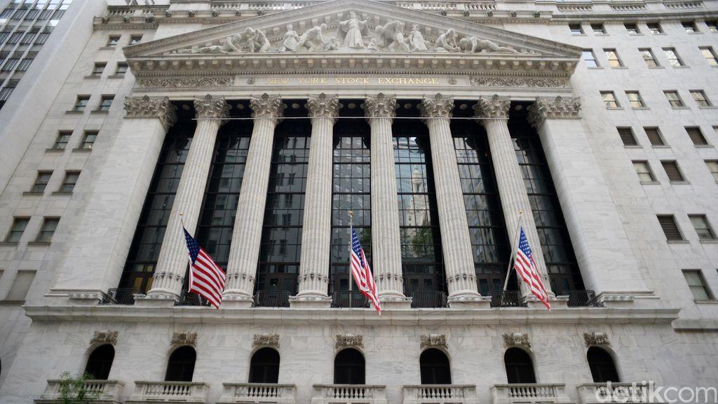 Saham Bank Mulai Melambat, Wall Street Stagnan