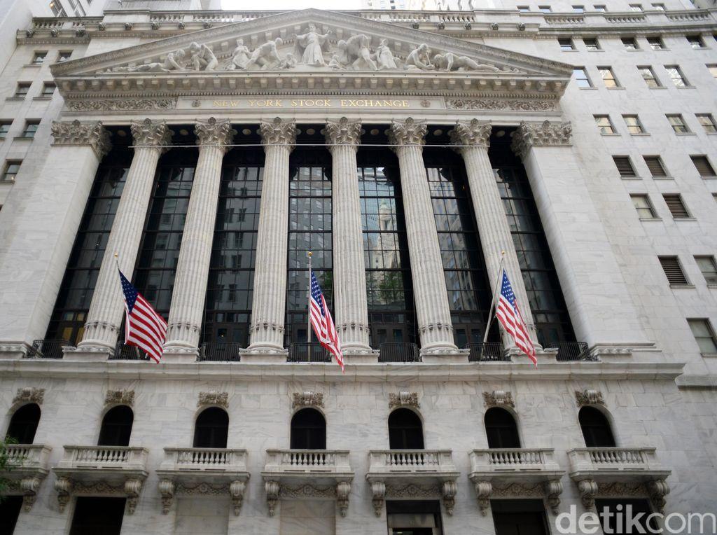 Bursa Saham AS Mendung Menanti Stimulus