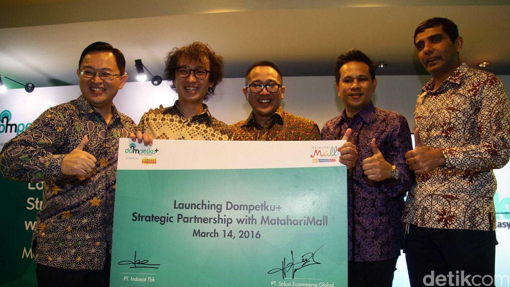 Indosat Ooredoo Luncurkan Dompetku+