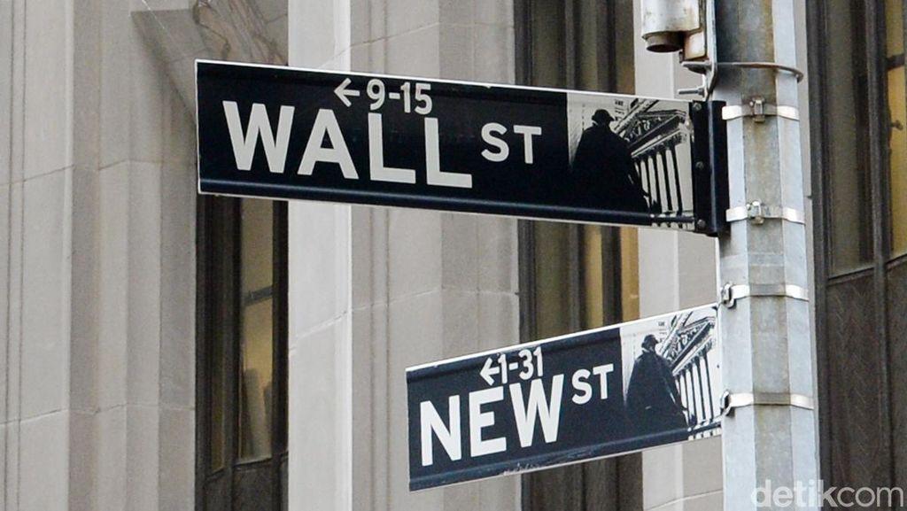 Wall Street Naik Hingga 1% Lebih
