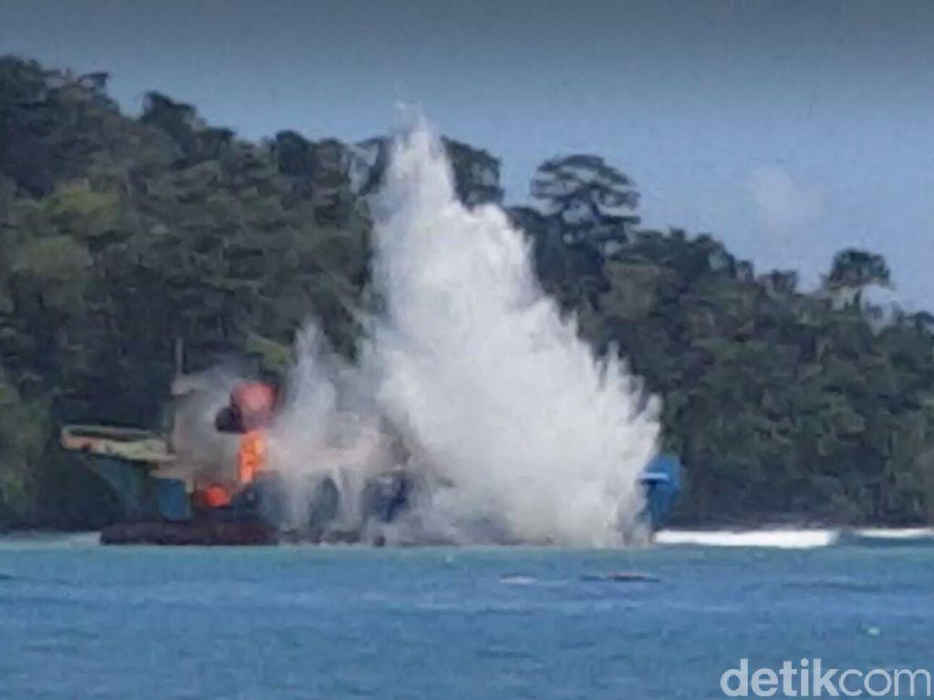 Susi Bakal Tenggelamkan 20 Kapal Pencuri Ikan