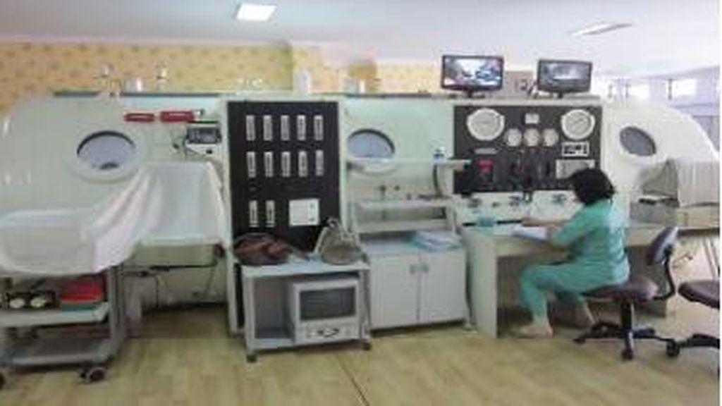 Maret: Chamber untuk Terapi Hiperbarik di RS Mintohardjo Terbakar