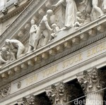 Saham-saham Bank dan Telekomunikasi Bikin Dow Jones Cetak Rekor Lagi