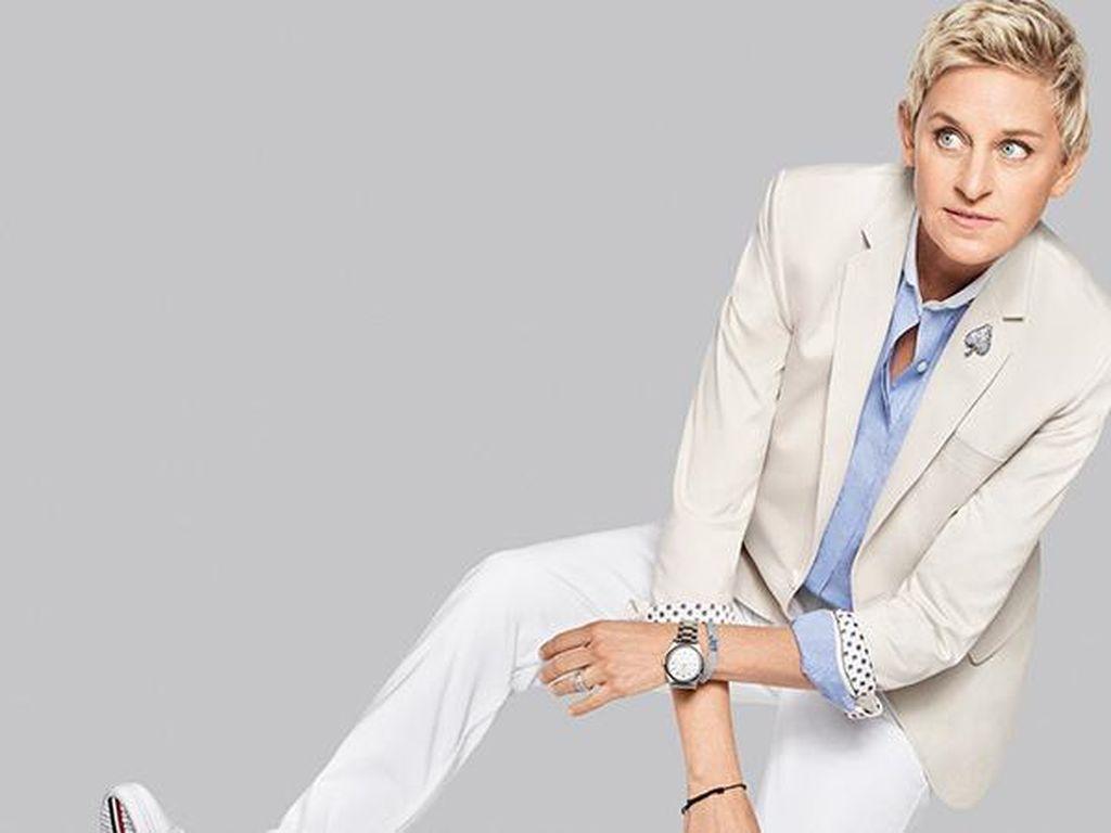 Duh, Ellen DeGeneres Diprotes Kru Soal Bayaran