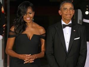 Ketika Presiden Obama Puji Bentuk Tubuh Istrinya