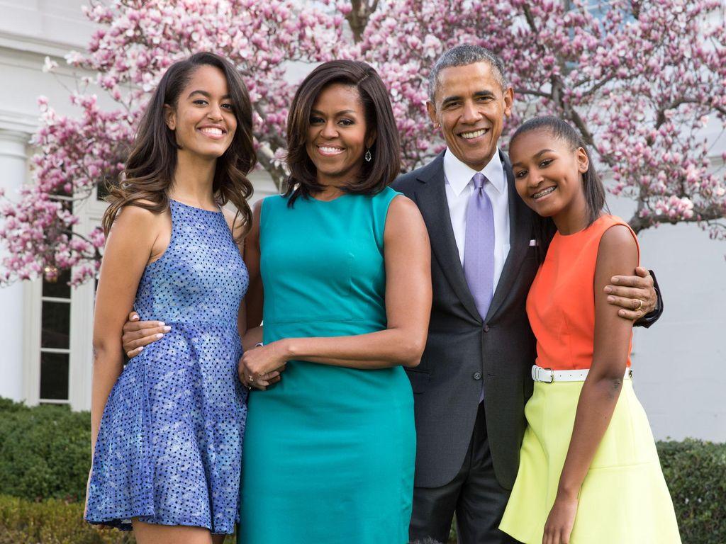 Pujian Anak ke Michelle Obama dalam Penampilan Langka di Depan Kamera