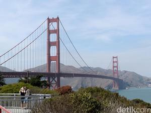 Golden Gate di AS, Lebih dari Sekadar Spot Bunuh Diri