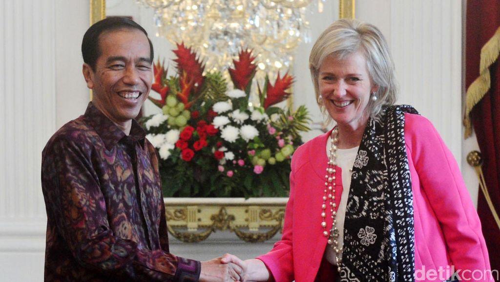 Jokowi Terima Princess Astrid dari Belgia