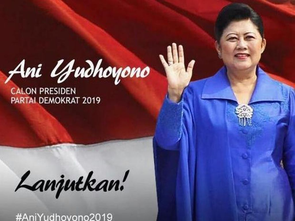 PD Wacanakan Ani Yudhoyono Capres 2019, Coba-coba atau Cita-cita?