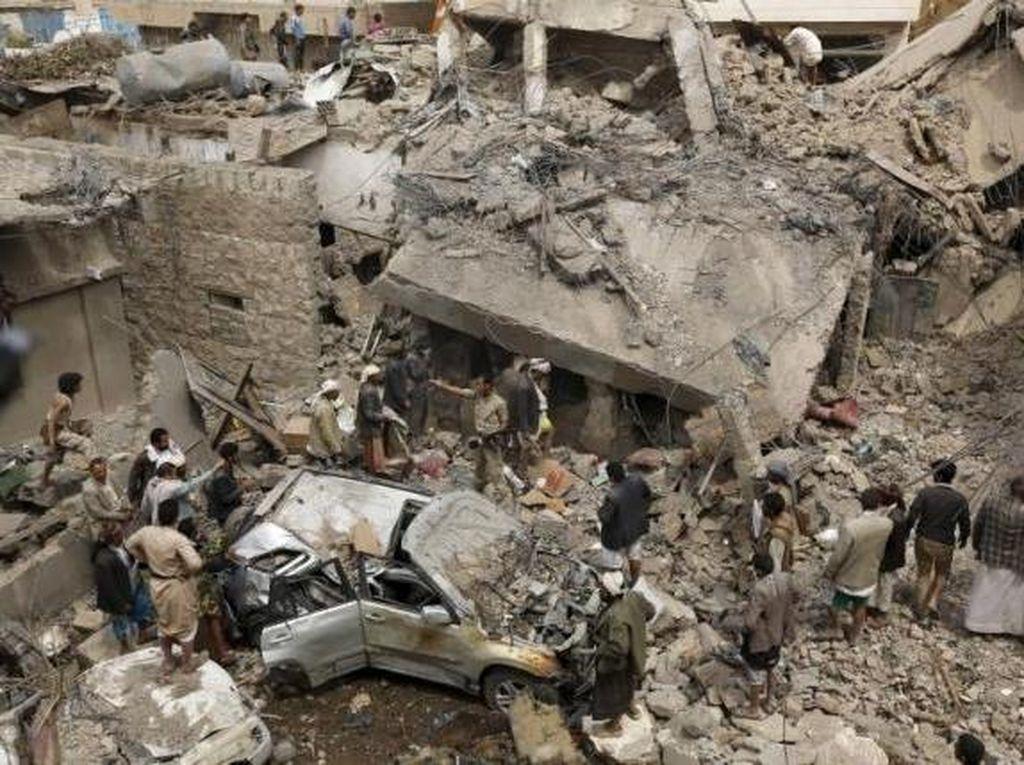 19 Anak Tewas dalam Serangan Udara Koalisi Arab Saudi di Yaman