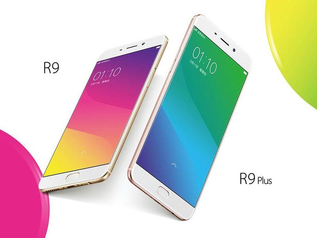 Duet Oppo R9 & R9 Plus Resmi Meluncur
