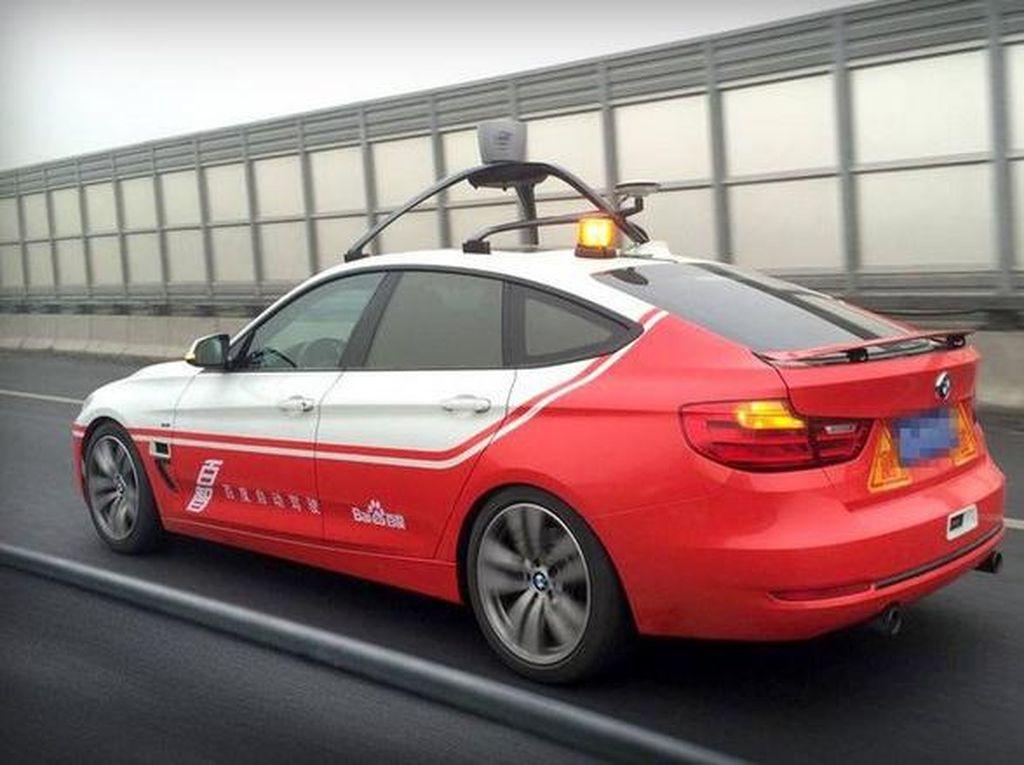 Baidu Berambisi Salip Mobil Pintar Google