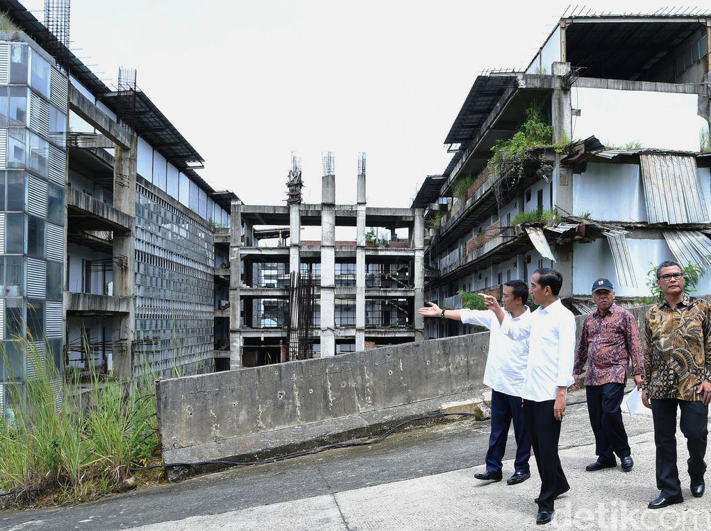 Rencana Jokowi Lanjutkan Proyek Hambalang