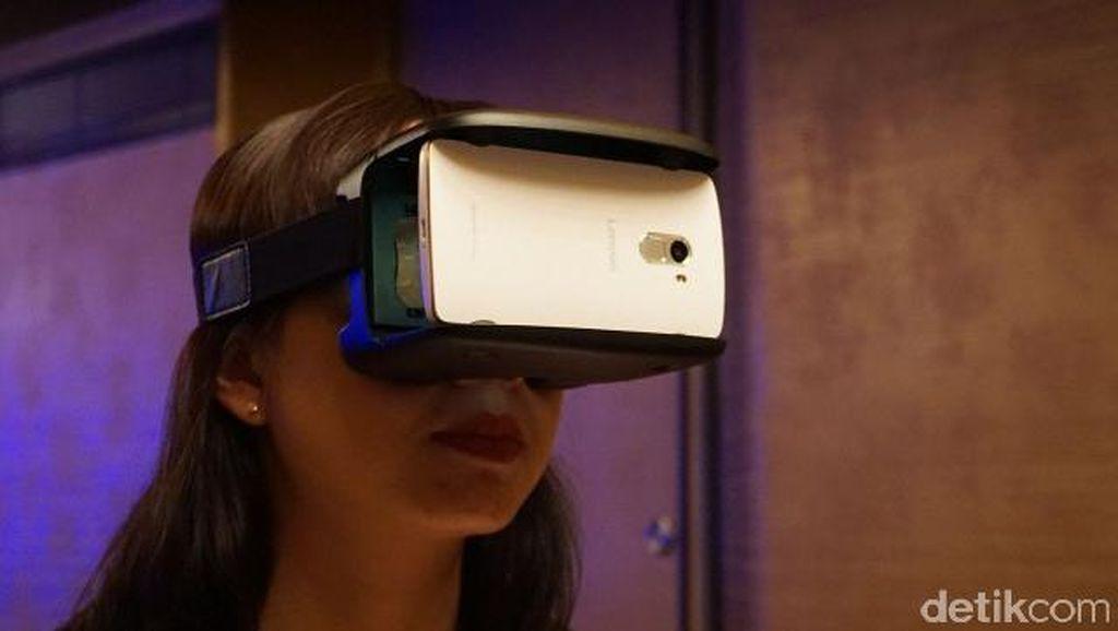 Vibe K4 Note, Ponsel Virtual Reality Pertama Lenovo