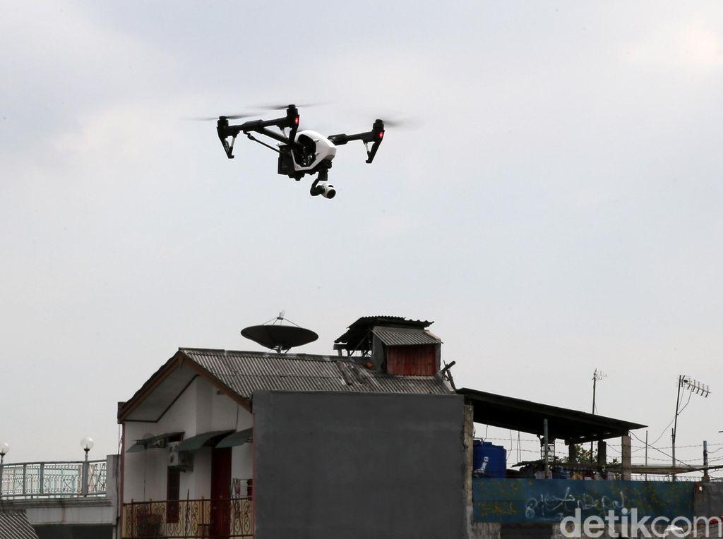 Kepolisian New York Pakai Drone untuk Pantau Pesta Tahun Baru