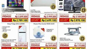 Promo Elektronik Kebutuhan Rumah di Transmart Carrefour
