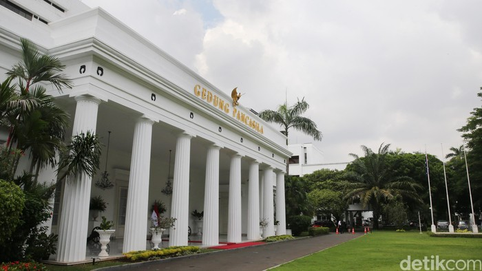 Gedung Pancasila di Kementrian Luar Negeri (Kemlu)