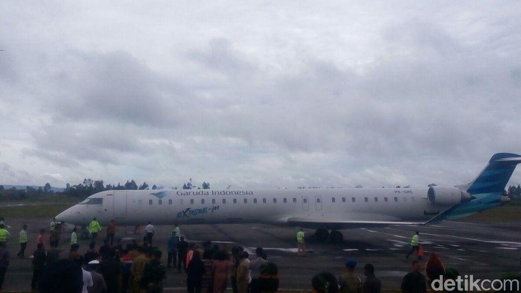 Penerbangan Garuda Sudah Ditunggu Masyarakat Batak