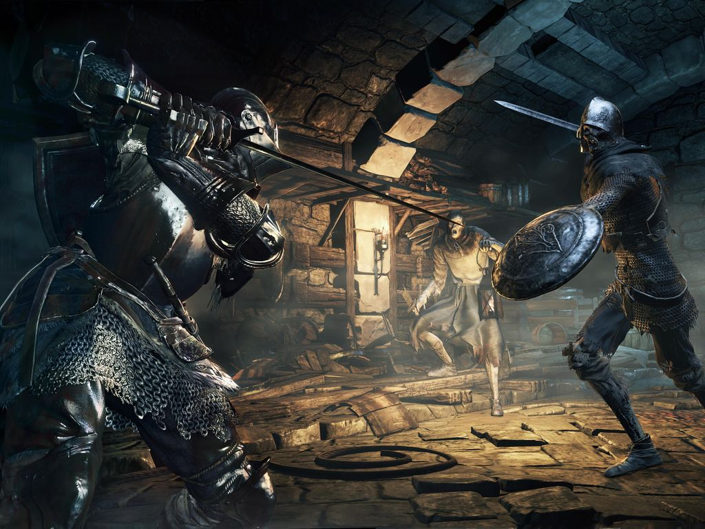 Gamers Darks Souls III Ditantang Chicken Wing Super Pedas