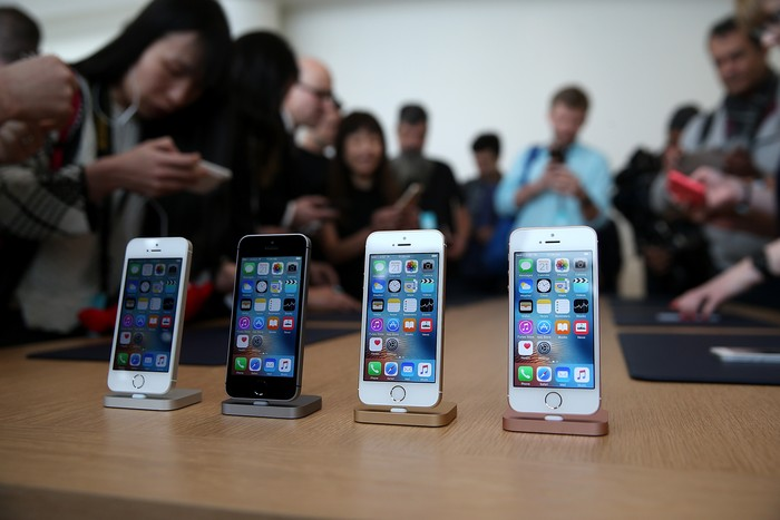 iPhone SE (Foto: Justin Sullivan/Getty Images)