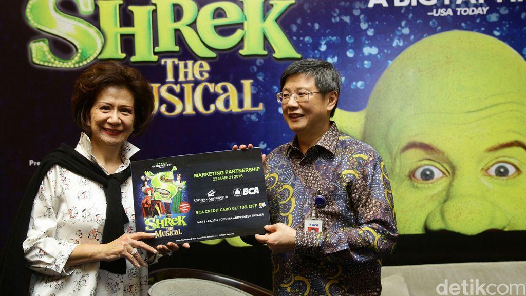 BCA Gandeng Ciputra Artpreneur Tampilkan Shrek The Musical