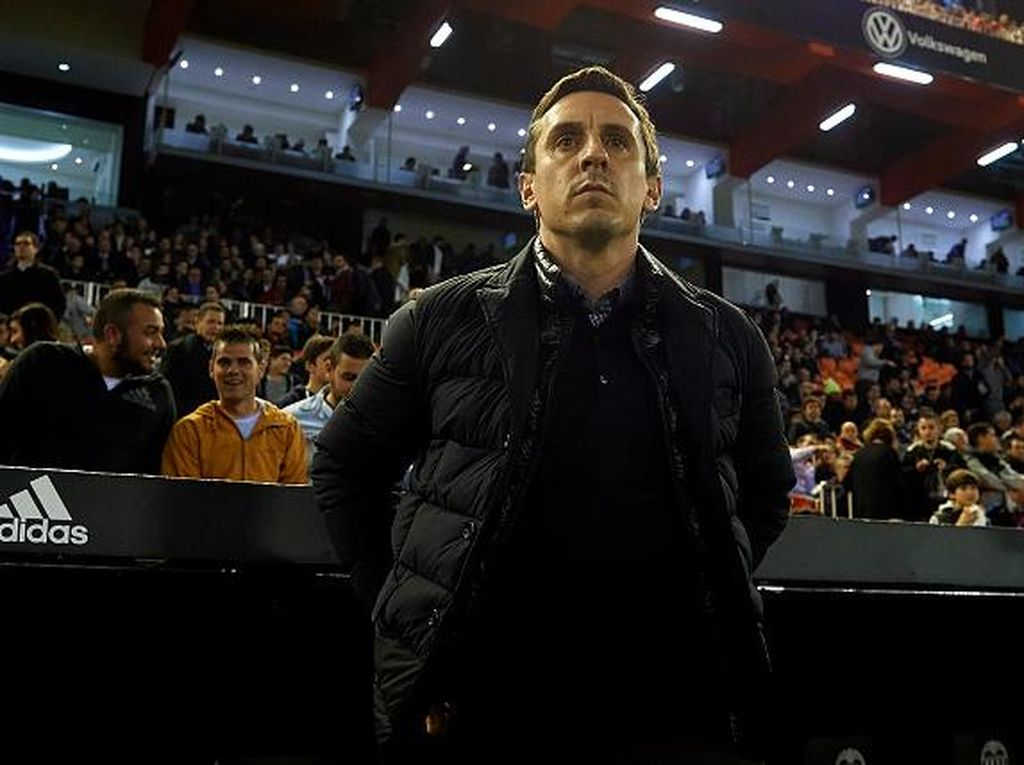Duh, Gary Neville Dicap Lawak kala Membesut Valencia