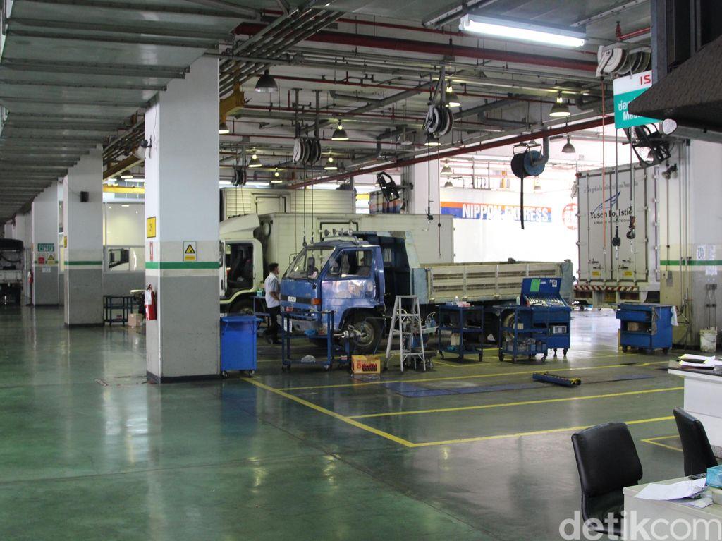 Service Center Isuzu Terbesar di Dunia Ada di Bangkok