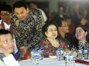 Megawati kepada Ahok: Yang Jantan Dong!
