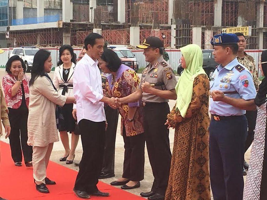 4 Pesan Presiden Jokowi untuk TNI dan Polri di Kalimantan Barat