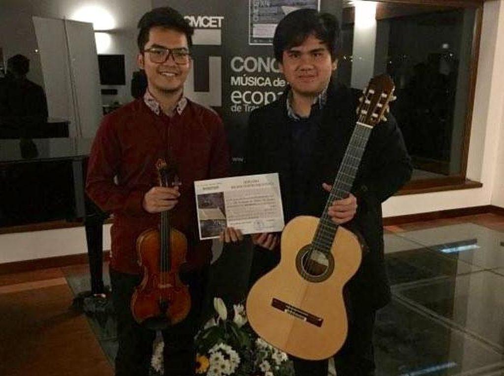 Dua Musisi RI Raih Penghargaan Kompetisi Internasional Spanyol